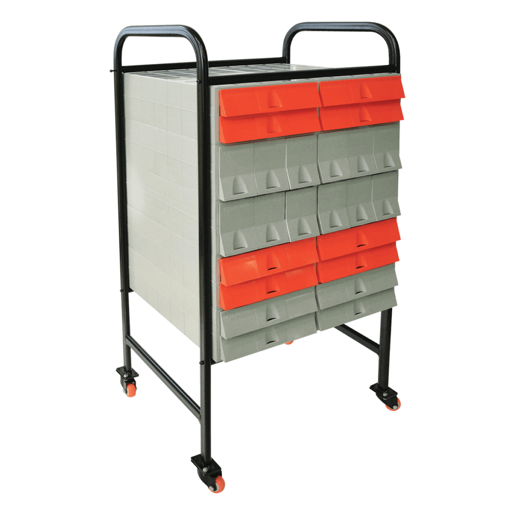 Metal Trolley for P.I.P. Filing Cabinets