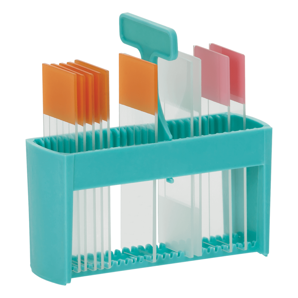 Slide Staining Holder with Handle-pip