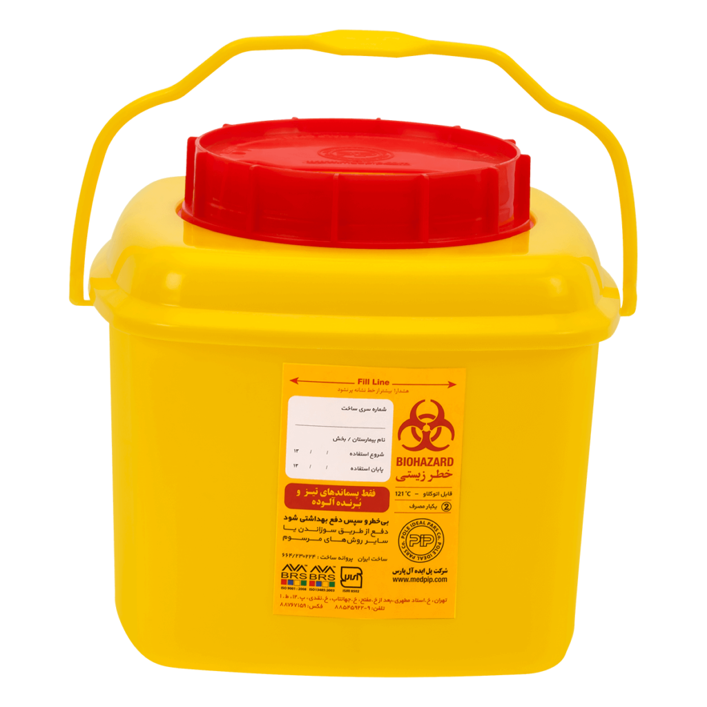 Sharps container Ra 4L-pip
