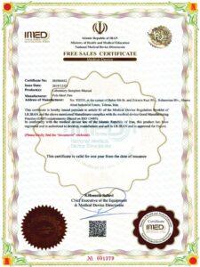 micropipette export certificate
